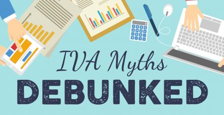 IVA Myths infographic header.