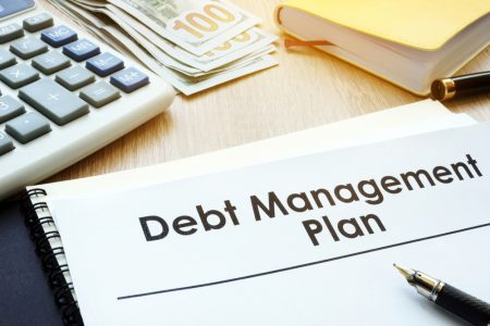 Debt management plan document.