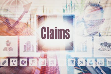 Claims software concept image.