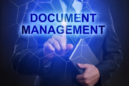 Document Management display