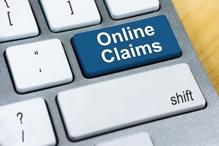 the words online claims on a keyboard - a blog abaout intelligent claims management